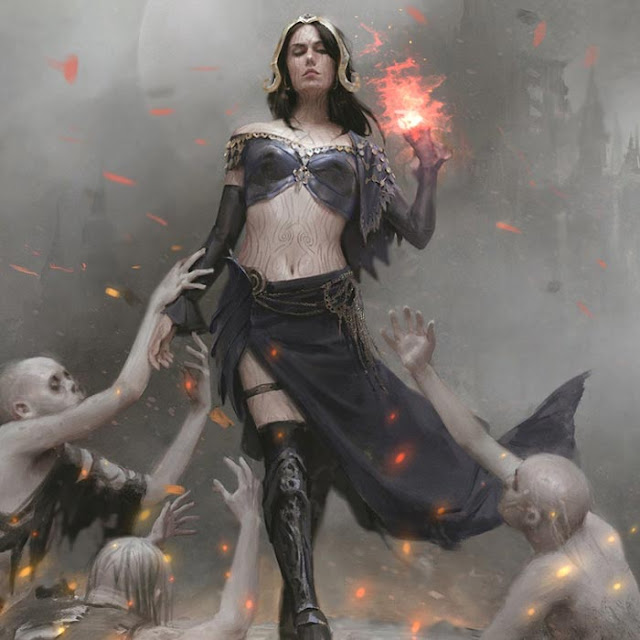 Magic the Gathering Liliana Vess Origins 2.0 Wallpaper Engine