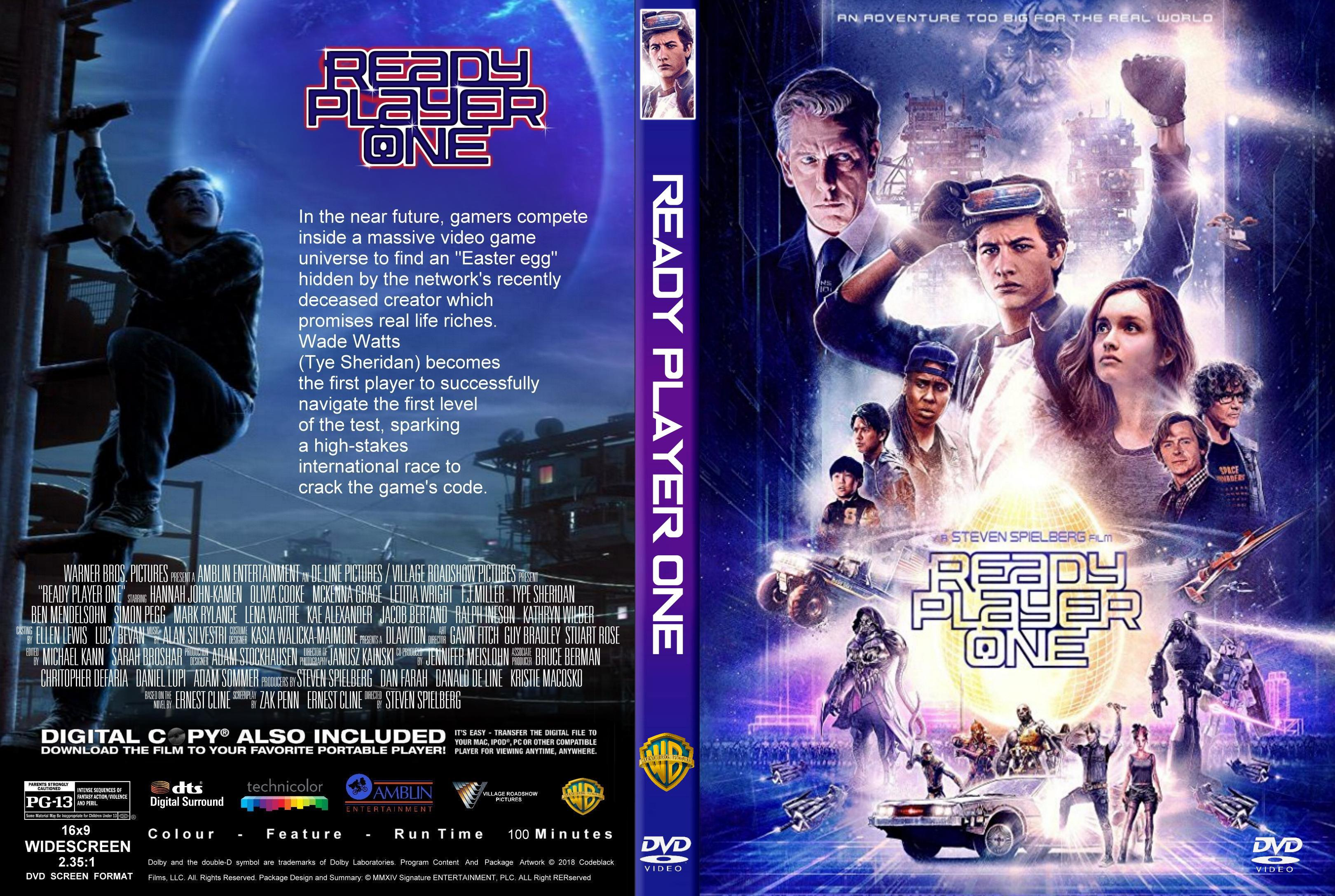 Ready Player One DVD Cover   Cover Addict - Free DVD
