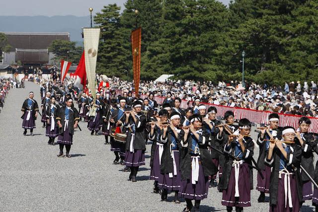 Jidai Matsuri (Festival of the Ages) at Heian Shrine, Kyoto