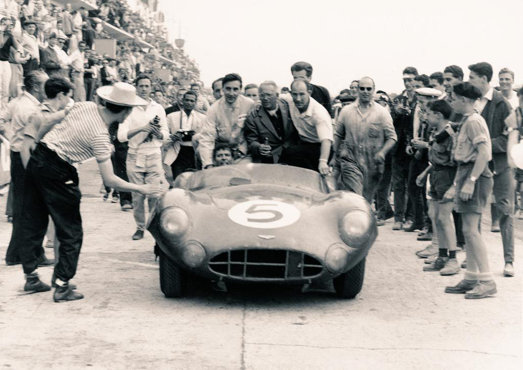 Carroll Shelby Reflects On Aston Martin And Le Mans