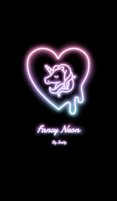 Fancy Neon - Black