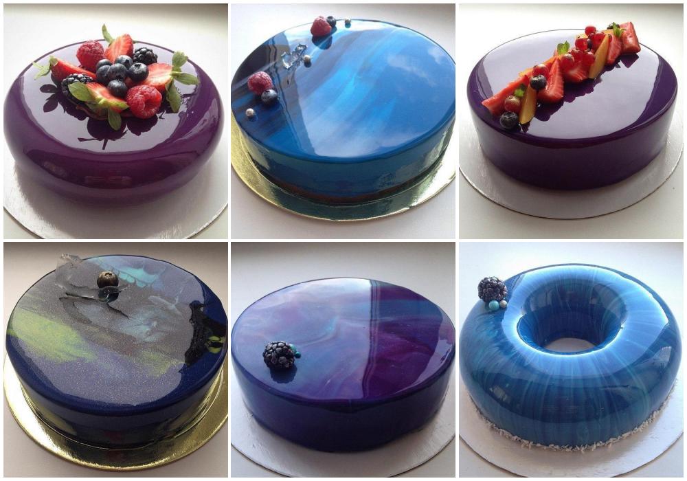Можно ли заморозить торт с зеркальной глазурью
