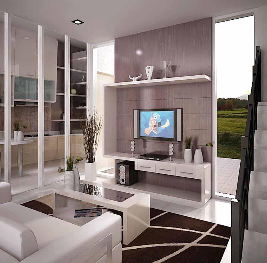 Desain Interior Rumah Ruang Keluarga Minimalis