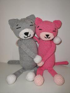Nurse Kitty Cat, Amigurumi Crochet Pattern   300x225