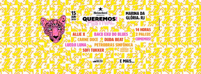 Queremos! Festival 2019: Já tem data e atrações confirmadas