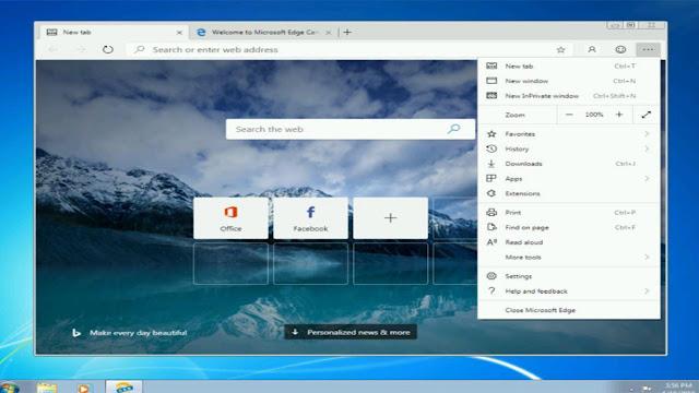 مايكروسوفت تطرح  Chromium Edge لكل من 10 و8.1 و8 وWindows 7