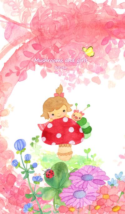 Mushrooms and girls