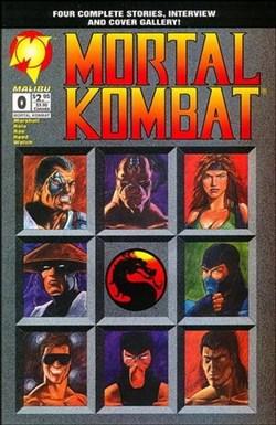 Mortal Kombat Malibu Comic