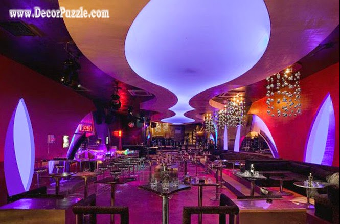 new stretch ceiling design for Restaurant suspended ceiling and false ceiling