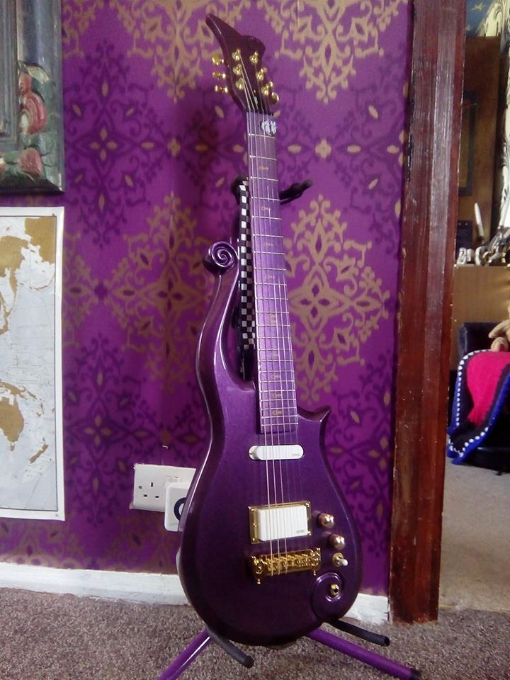 Prince purple Cloud guitar