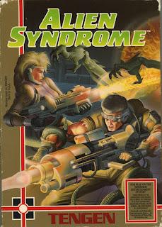 Alien Syndrome (BR) [ NES ]