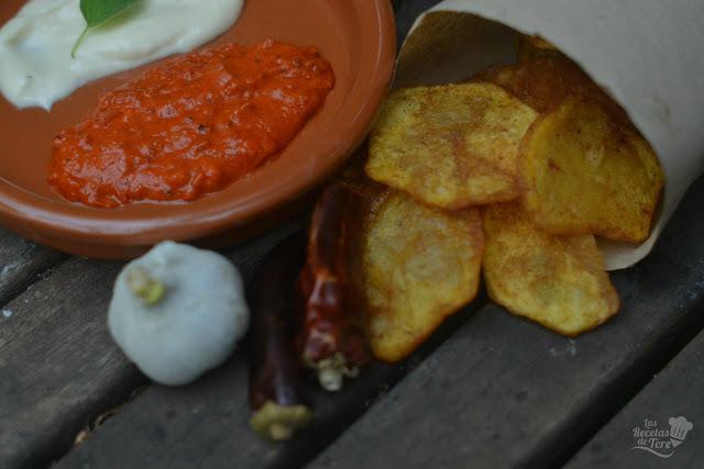 Patatas fritas aliñadas tererecetas 06