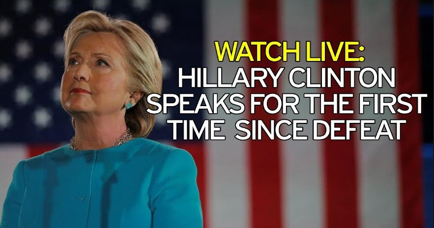 Ipresstv Watch Hillary Clinton Live Delivering Her First