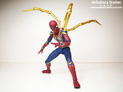 S.H.Figuarts Iron Spider + Tamashii Stage de Avengers: Infinity War - Tamashii Nations