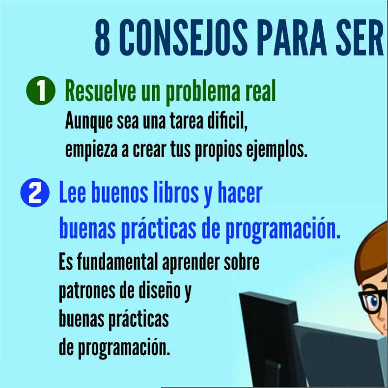 consejos para ser un buen programador