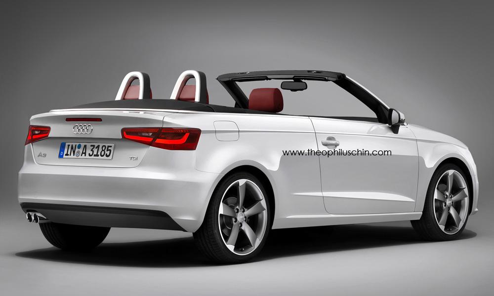 audi a3 convertible renderings garage car. Black Bedroom Furniture Sets. Home Design Ideas