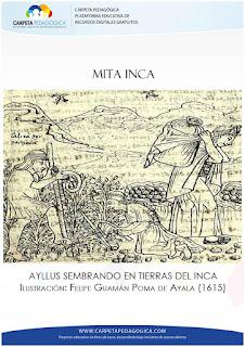 Mita Inca: Ayllus sembrando en tierras del Inca