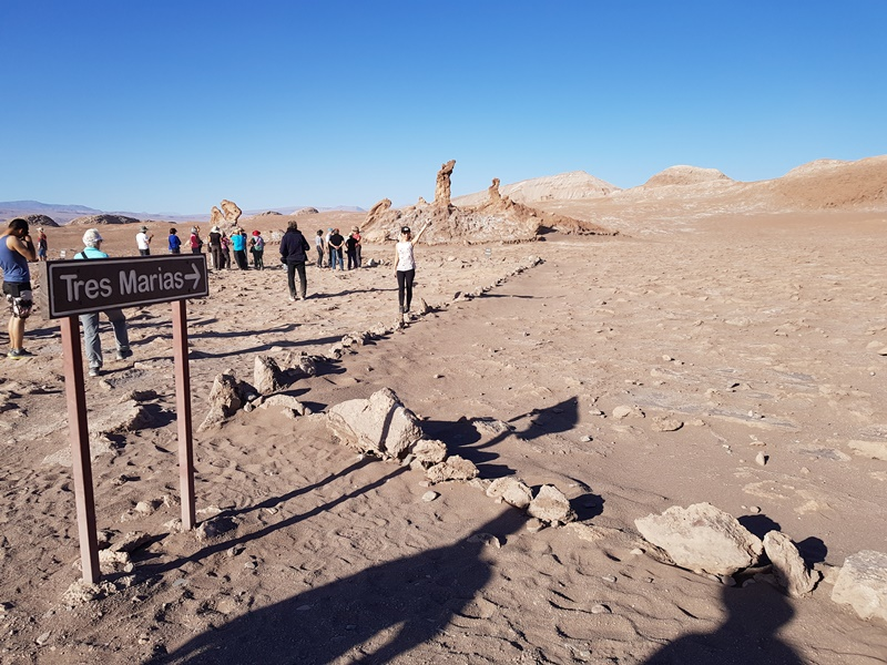 Deserto de Sal, Tres Marias