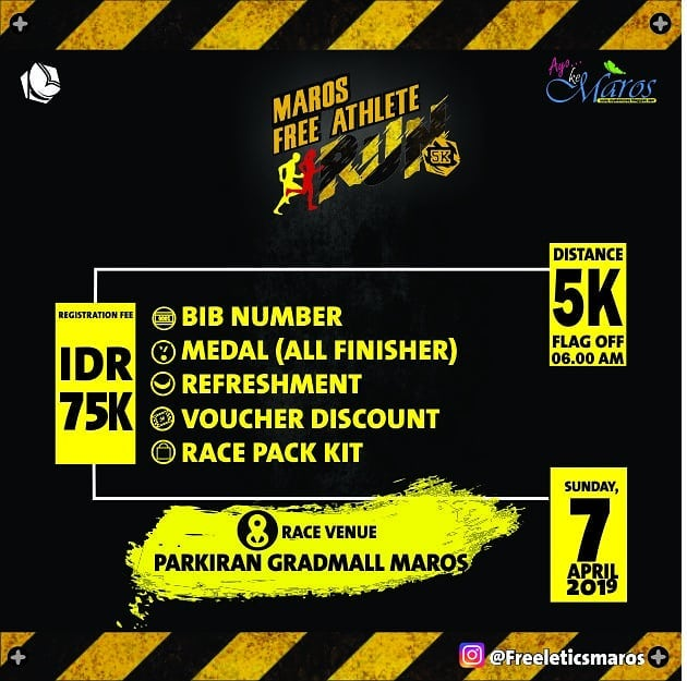 Maros Freeathlete Run • 2019