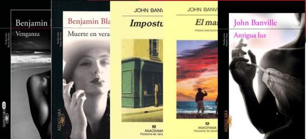 """""""Venganza"""", """"Muerte en verano"""", """"Antigua luz"""". """"El mar"""", """"La guitarra azul"""""""