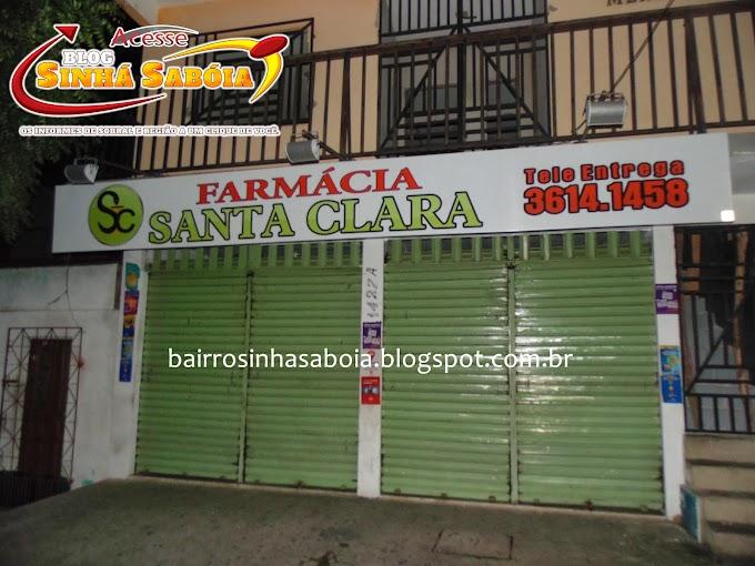 SOBRAL: Bandidos armados assaltam Farmácia Santa Clara