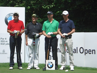 Rede als Schirmherr - Siegerehrung Golf-Turnier