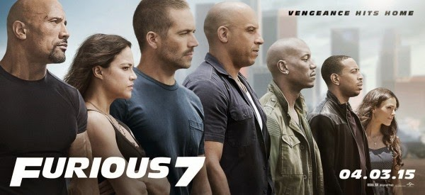 Poster Film Terbaru Fast and Furious 7