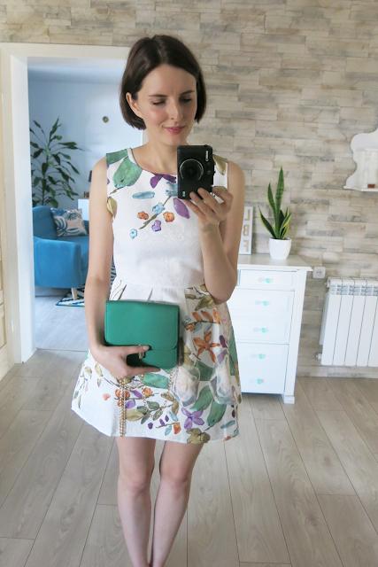Sukienka, spódnica oraz sweterek - RoseGal.