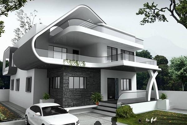 Harian Andalas Post Rumah Mewah Minimalis Modern 2 Lantai