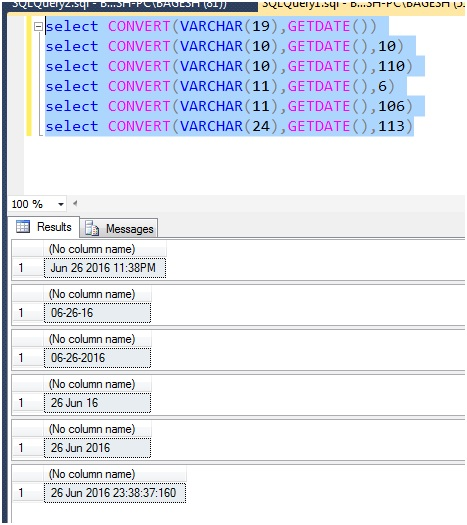 Microsoft Business Intelligence Cast And Convert In Sql