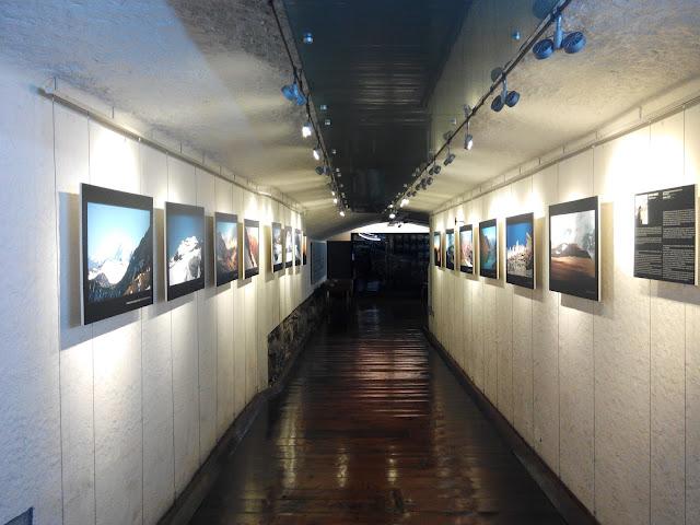 Antiguos calabozos en Oficina de Información y Turismo de Santiago de Chile