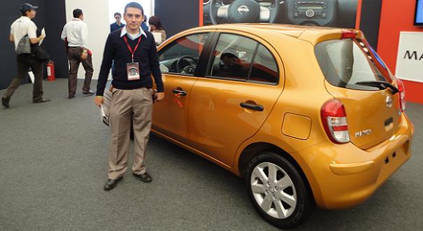 Desde México: el primer argentino que manejó el Nissan ...