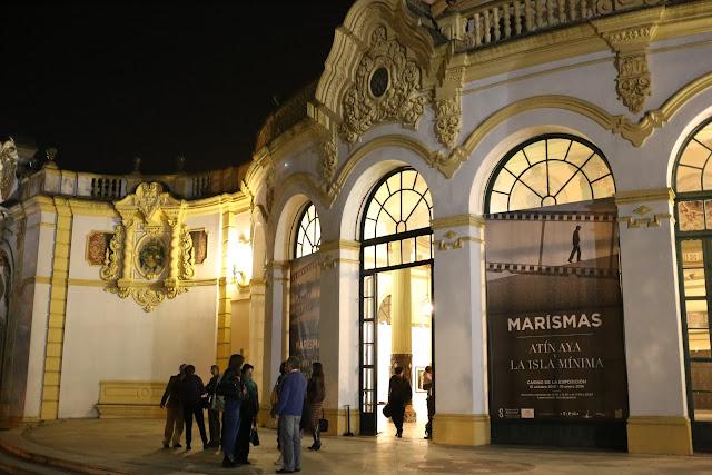 Exteriores del Casino de la Exposición de Sevilla