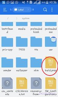 Build prop