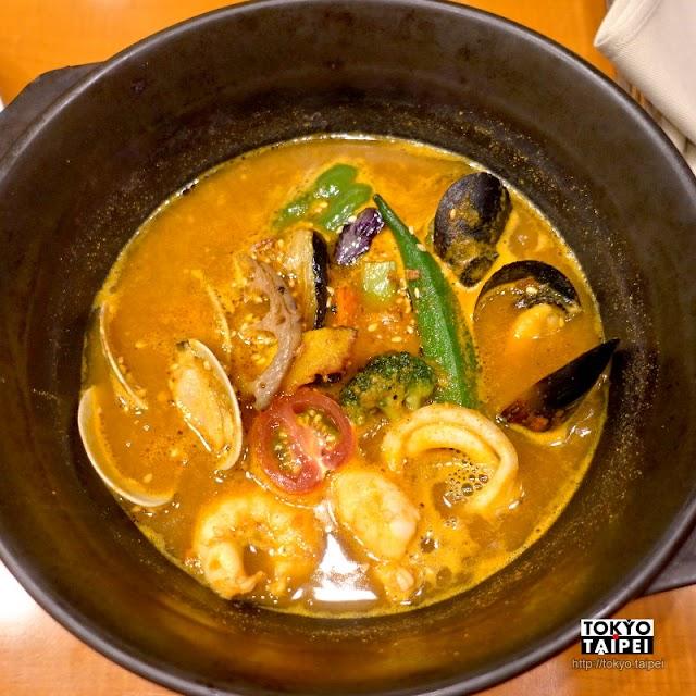 【天馬】大量海鮮和蔬菜超滿足 香辣夠味札幌名物湯咖哩