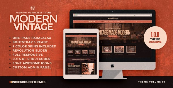 Premium One Page WordPress Theme