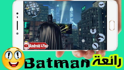 تحميل لعبة batman the dark knight rises للاندرويد APK-DATA