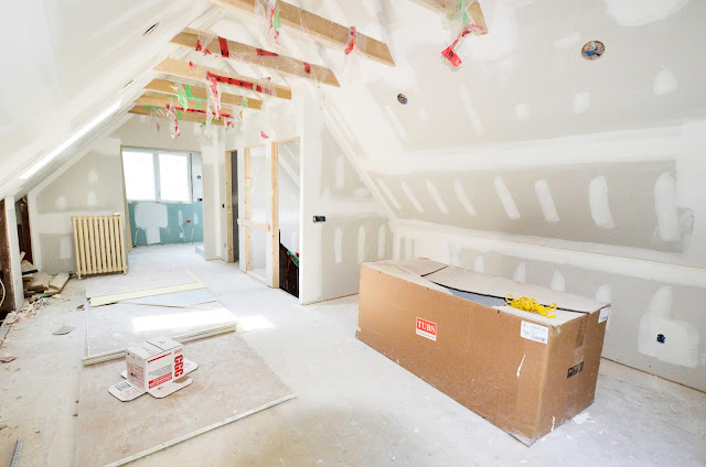 Project Rad:open concept toronto century home renovation |navkbrar.blogspot.com - attic master bedroom conversion