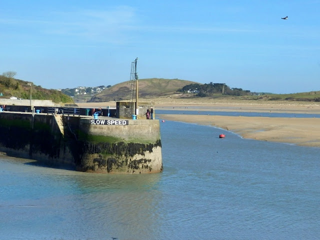 Harbour wall at Padstow, Cornwall