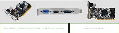 NVIDIA GeForce GT 730 ekran kartının driver dosyası.