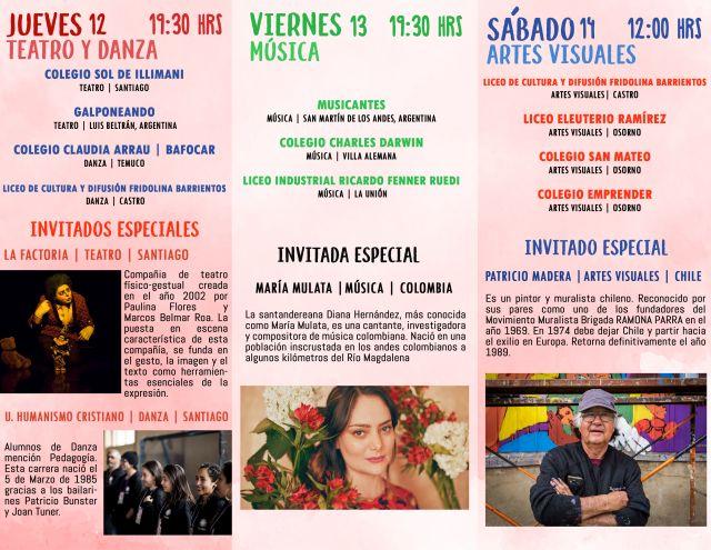 XI Encuentro Juvenil de las Artes en el Santa Cecilia
