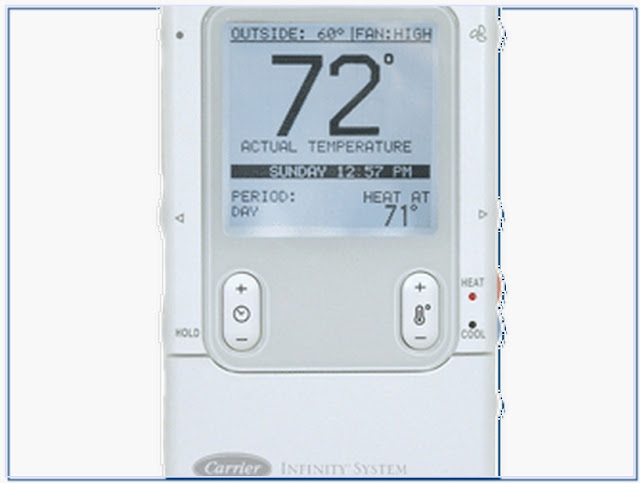 Carrier infinity thermostat models