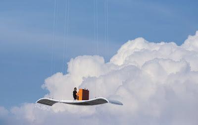 Cách tạo ảnh bay trên không trung