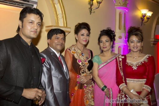 rajesh hamal and madhu bhattarai wedding, ramesh upreti, jharana bajracharya