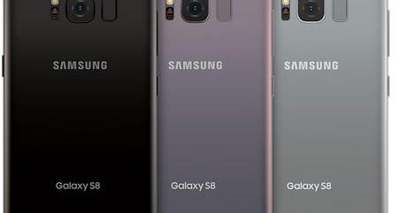 Samsung Galaxy S8, S8 Plus Hongkong & China G9500 G9550 Combination