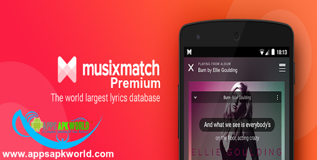 Musixmatch Music & Lyrics Cracked APK