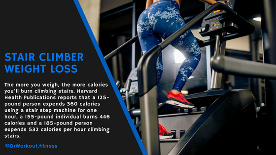 Stair climber calories burned