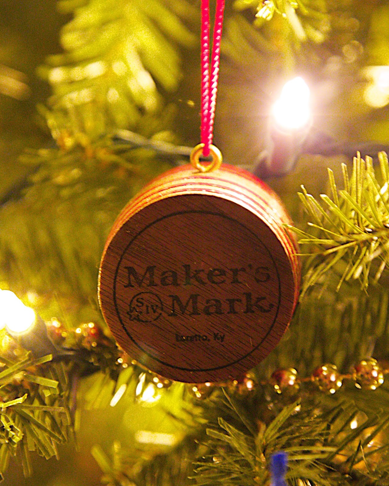 Maker's Mark Ornament