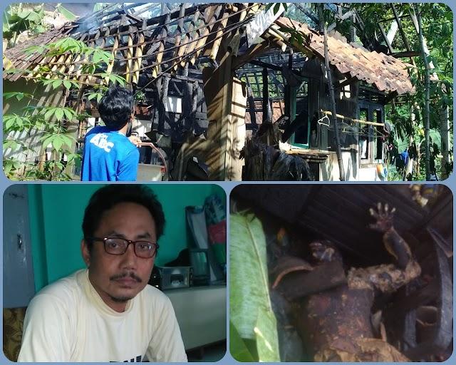 Kebakaran Rumah di Desa Gunung Sari Telan Korban