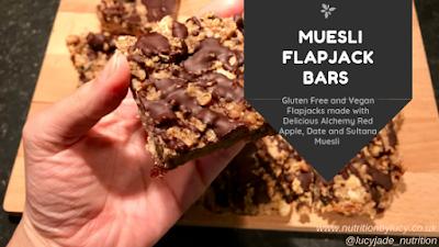 Banana Flapjack Feat Delicious Alchemy Muesli